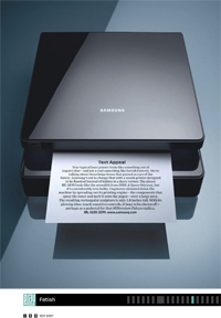 <em>Samsung Printer</em><br/>Stan Musilek